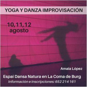 yoga y danza