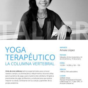 yoga terapeutico columna vertebral
