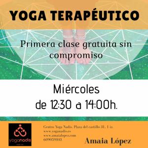 clases yoga terapeutico