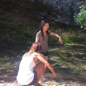 Lurederra danza y rio