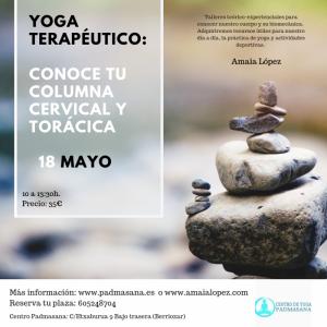 cervicales yoga terapeutico