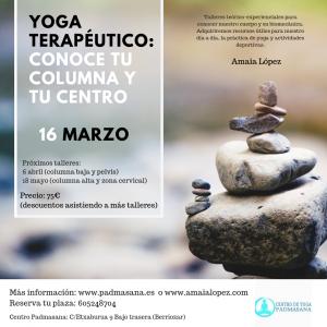 columna yoga terapeutico