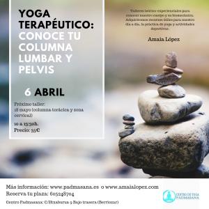 lumbopelvico yoga terapeutico