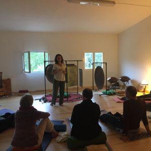 sonoterapia yoga